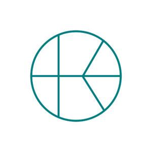 KN logo valko-vihreä